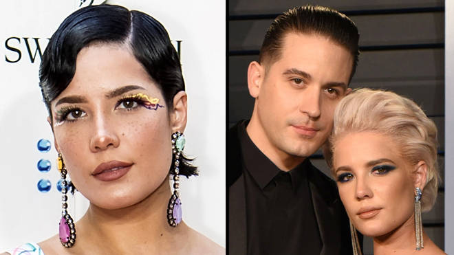 "Halsey says she&squot;s still friends with ""all"" her exes"