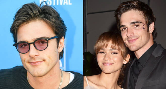 Jacob Elordi and Zendaya.