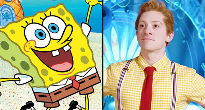 SpongeBob SquarePants.