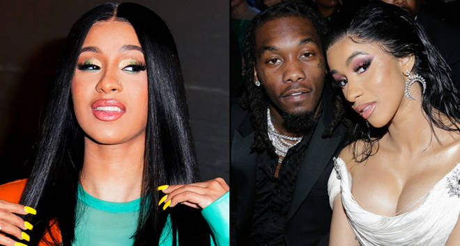 Cardi B at Vogue event on October 10, 2019, Offset and Cardi B attend THE 61ST ANNUAL GRAMMY AWARDS.