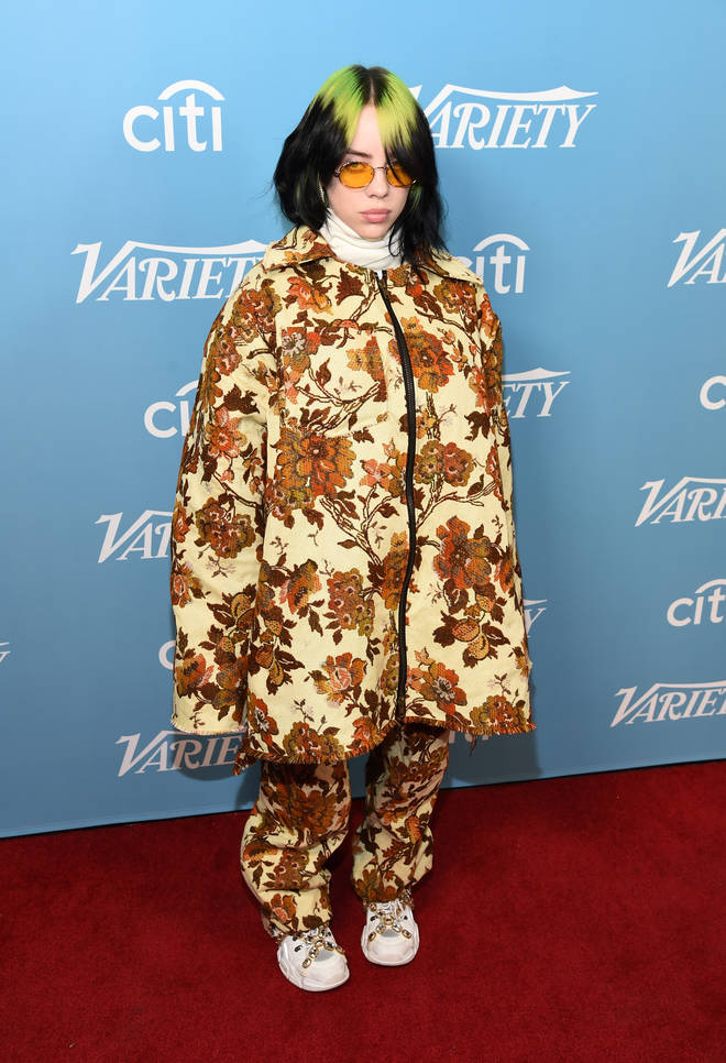 Billie Eilish arrives at the 2019 Variety's Hitmakers Brunch at Soho House on December 07, 2019