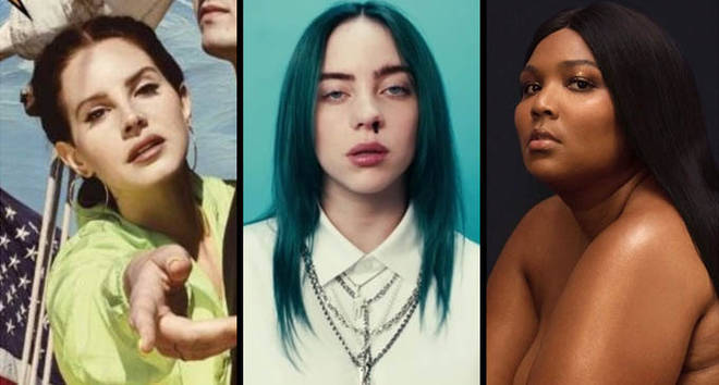 Lana Del Rey, Billie Eilish, Lizzo