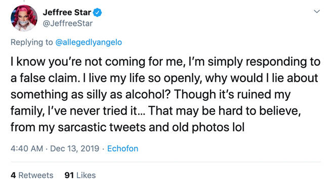 Jeffree Star claps back at accusations that he lied about never drinking alcohol (2)