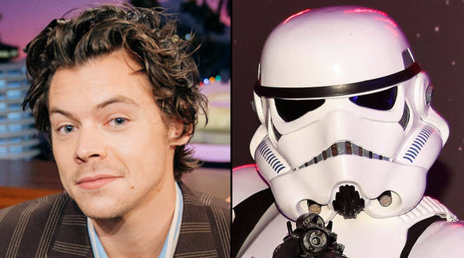 Does Harry Styles play a Stormtrooper in Star Wars?