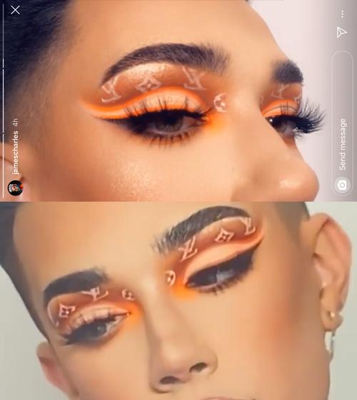 James Charles Recreates Louis Vuitton Makeup Without Photoshop After Backlash Popbuzz