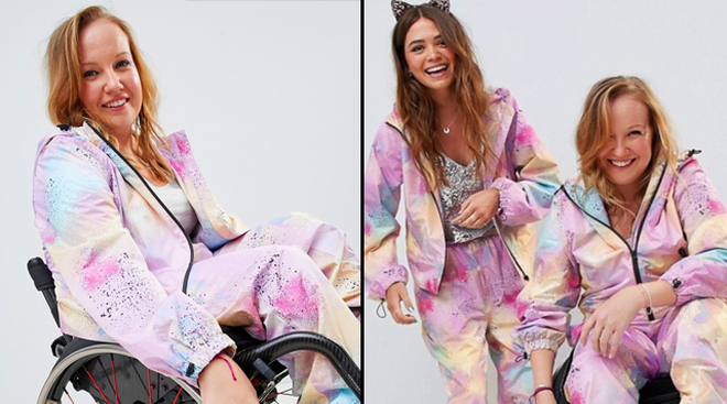ASOS Wheelchair Jumpsuit Accessible Fashion