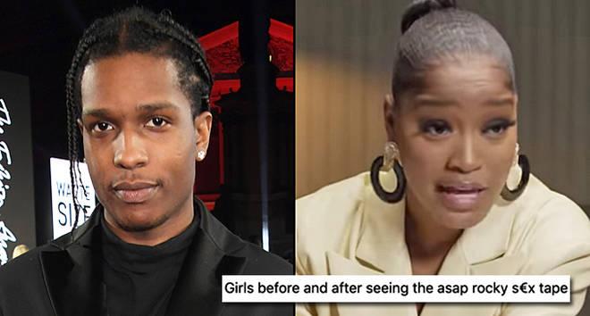 A$AP Rocky arrives at The Fashion Awards 2019, KeKe Palmer meme.