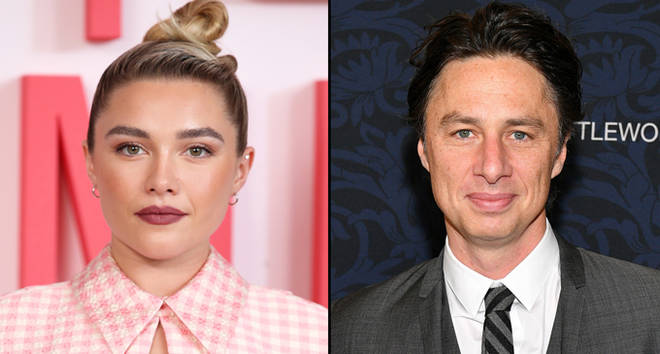 "Florence Pugh during the ""Little Women"" photocall, Zach Braff attends the ""Little Women"" World Premiere."