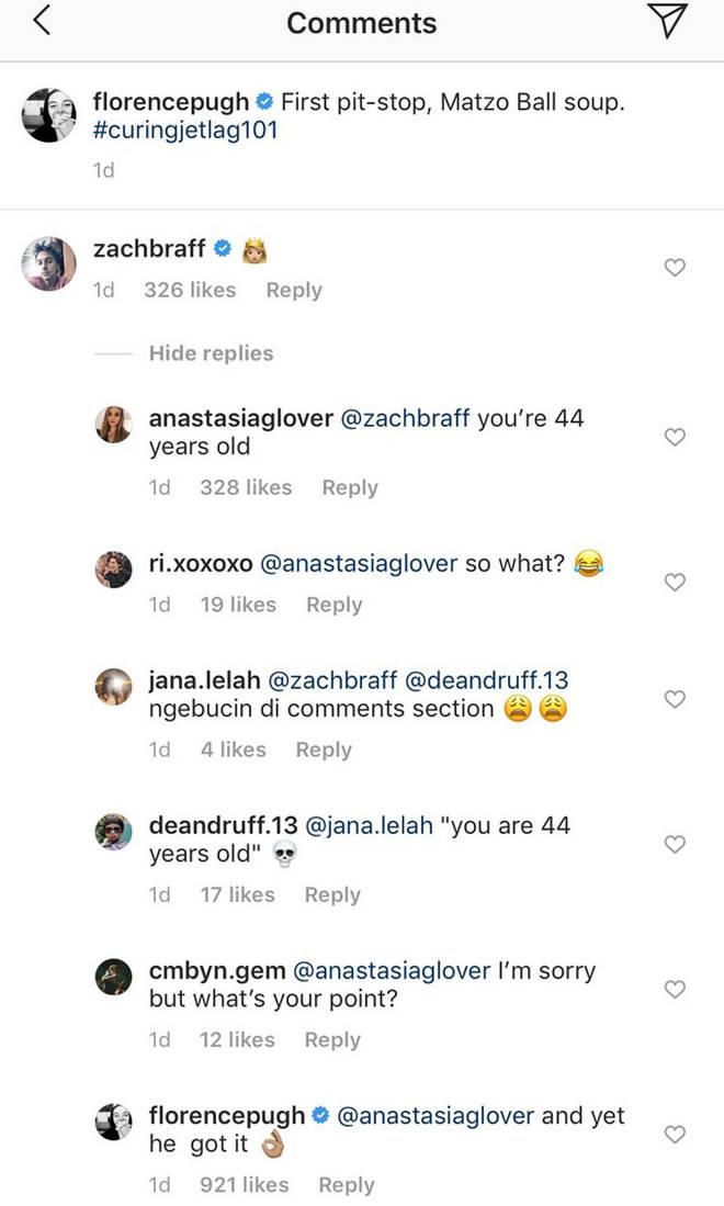 Florence Pugh Instagram