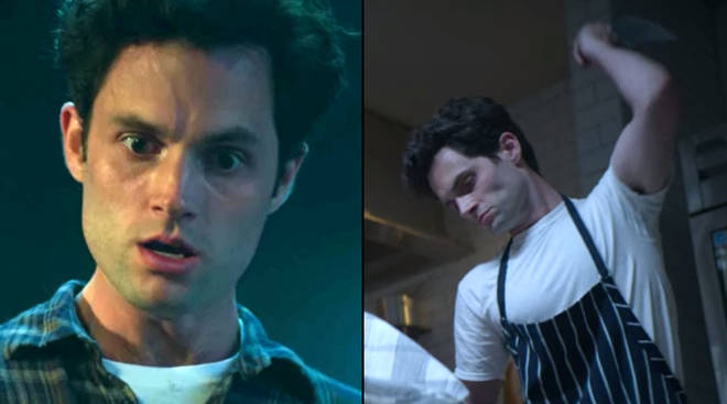 Penn Badgley reveals behind the scenes of Joe's first kill in You season 2
