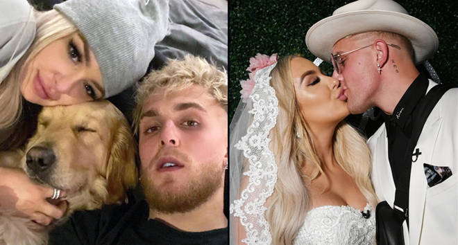 Tana Mongeau and Jake Paul