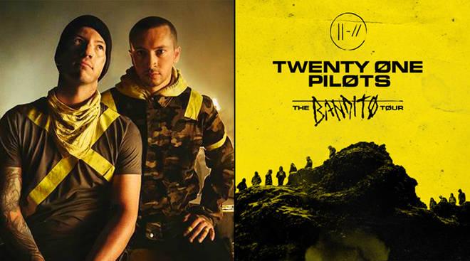Image result for Twenty One Pilots bandito tour
