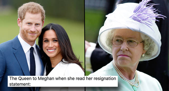 Prince Harry and Meghan Markle, Queen Elizabeth II