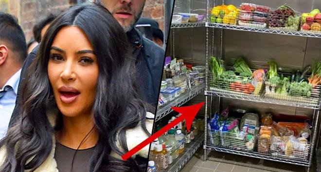 Kim Kardashian just gave fans a kitchen