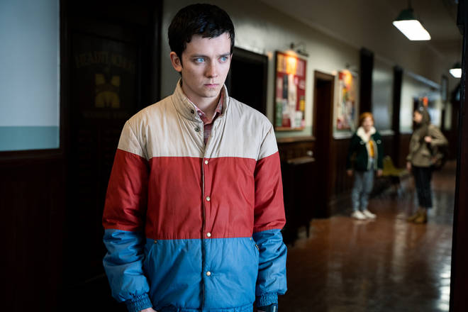 Asa Butterfield as Otis Milburn in Sex Education season 2