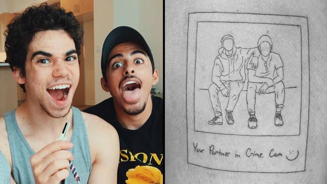 Disney star Karan Brar pays tribute to Cameron Boyce with tattoo