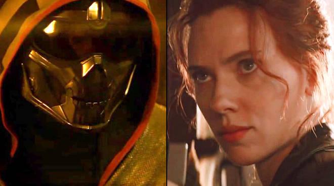 Who is Taskmaster in Black Widow?