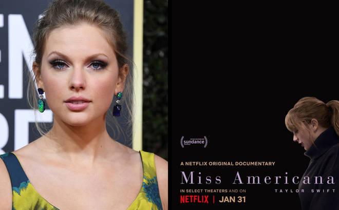 Taylor Swift: Miss Americana on Netflix
