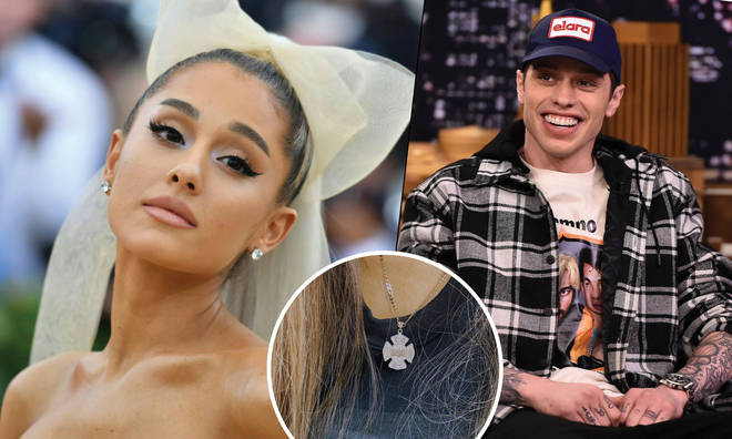 Pete Davidson Ariana Grande Necklace
