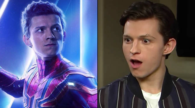 Tom Holland Avengers 4 Spoiler