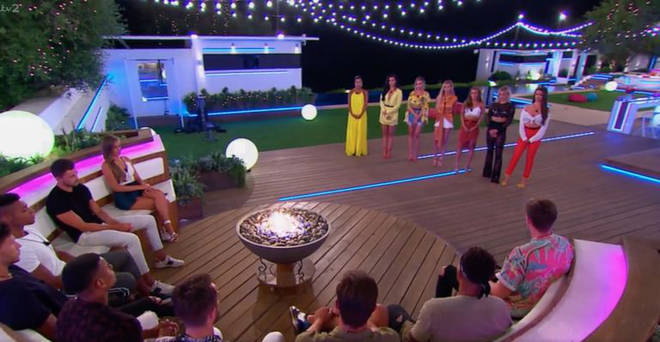 Love Island recoupling Georgia and Sam