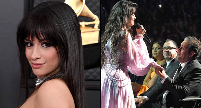 Camila Cabello performs onstage during the 62nd Annual GRAMMY Awards