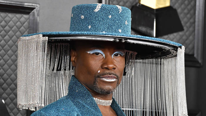 Billy Porter's hat on the Grammys red carpet has become a meme