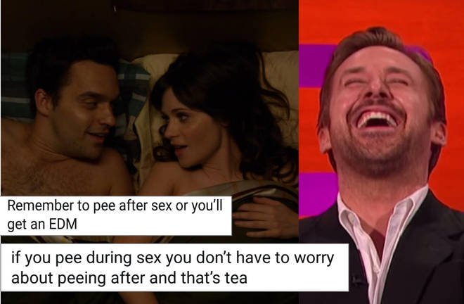 Pee after sex meme