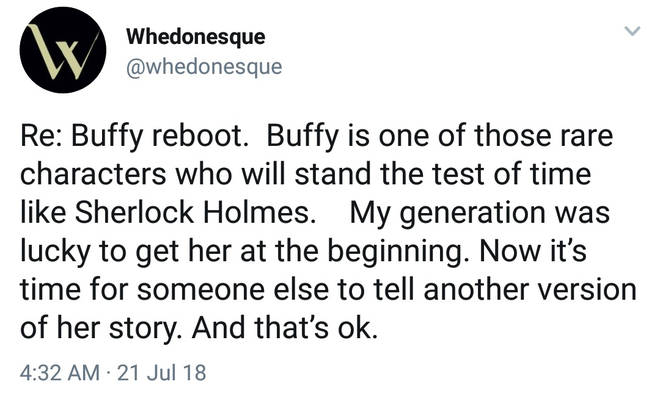 Buffy commentary