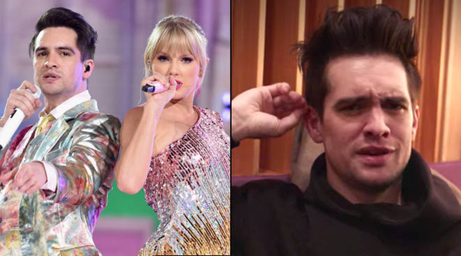 Taylor Swift and Brendon Urie have both had to deal with fans coming to their houses