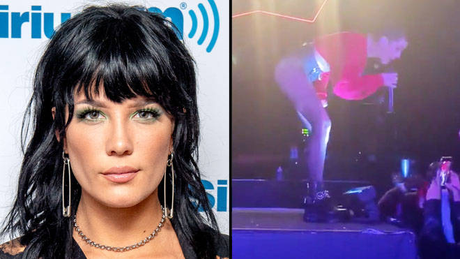 Halsey threatens to remove fan from show for screaming G-Eazy at her