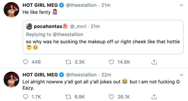 Megan Thee Stallion Twitter