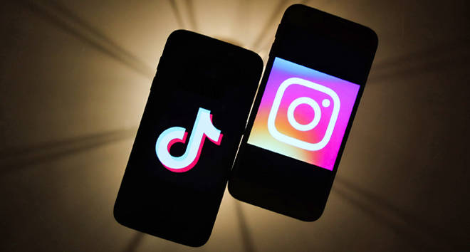 TikTok and Instagram