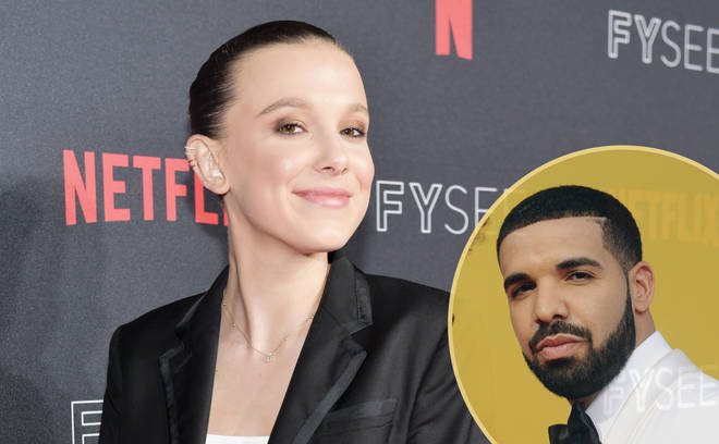 Drake and Millie Bobby Brown friendship