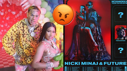 Nicki Minaj parties with Future in a
