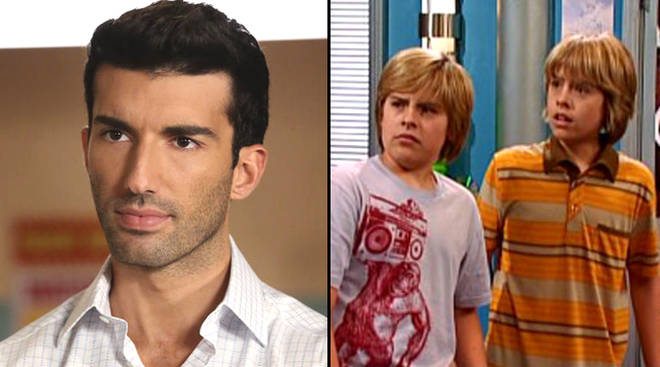 Justin Baldoni as Rafael/Dylan and Cole Sprouse in Suite Life