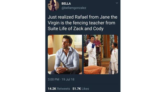 Rafael on Suite Life