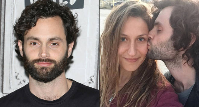 Penn Badgley and wife Domino Kirke are expecting their first child