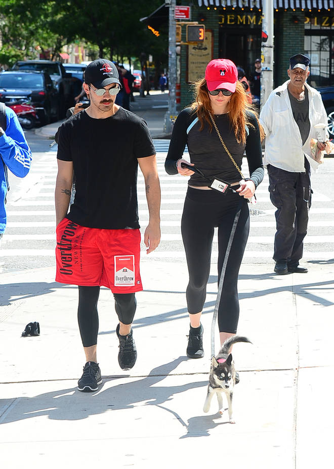 Joe Jonas & Sophie Turner New York City - September 8, 2017