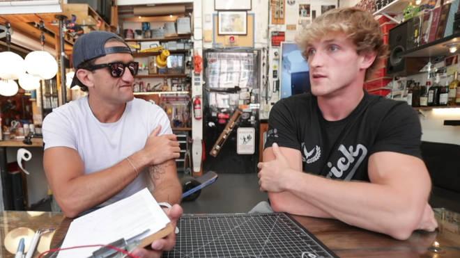 Casey Neistat interviews Logan Paul