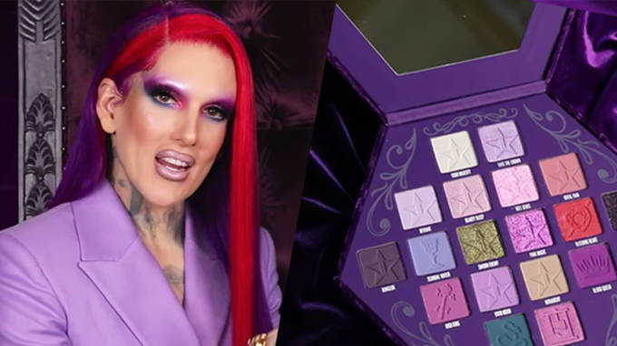 Jeffree Star claps back at criticism of his Blood Lust eyeshadow palette