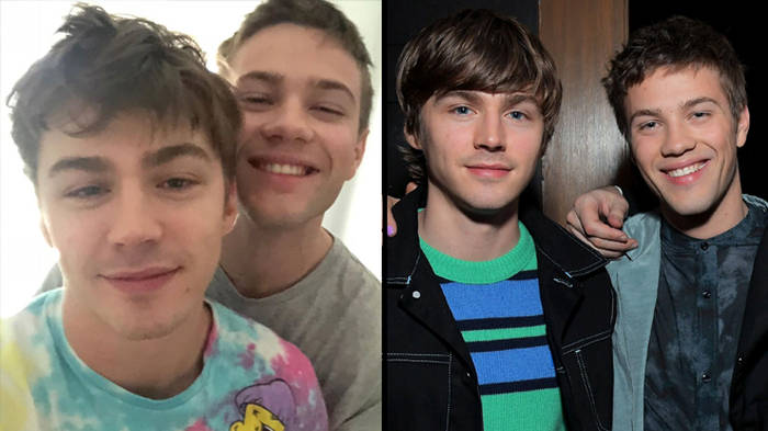 Connor Jessup Confirms He S Dating Miles Heizer With Valentine S Day Post Popbuzz
