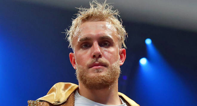 Jake Paul of Los Angeles California enters the ring make his boxing pro debut