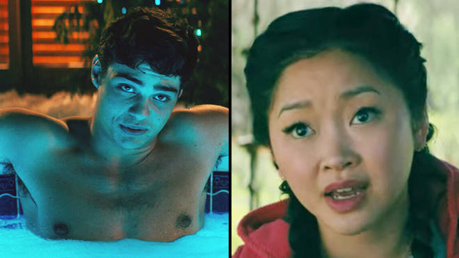 "To All the Boys 2 fans are outraged that Lara Jean and Peter Kavinsky&squot;s hot tub scene was ""all a lie"""