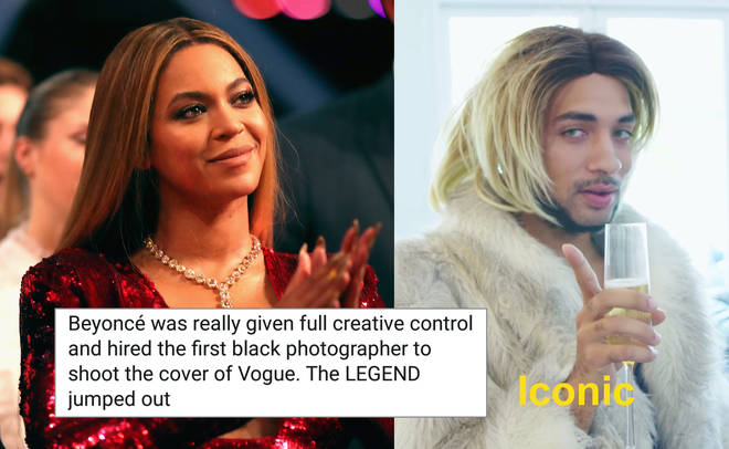 Beyonce clapping