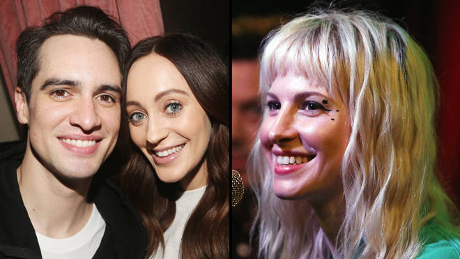 Brendon Urie says Hayley Williams set him up with his wife Sarah Urie