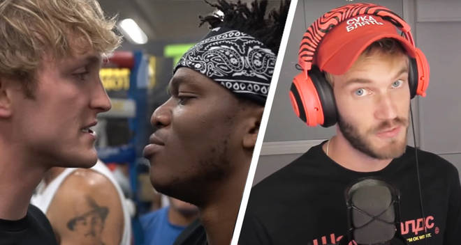 PewDiePie weighs in on the KSI vs Logan Paul boxing match