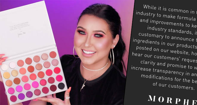 Jaclyn Hill apologises after Morphe confirms Volume II palette is no longer vegan