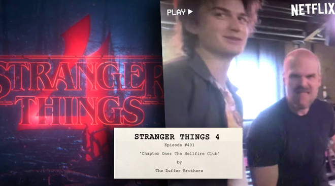 Stranger Things 4 starts production with cast table read