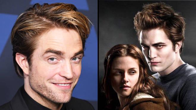 "Robert Pattinson says he thinks it's ""strange"" that people like Twilight"
